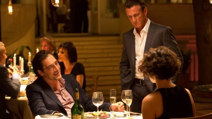 Javier Bardem en Sean Penn (Jim Terrier)