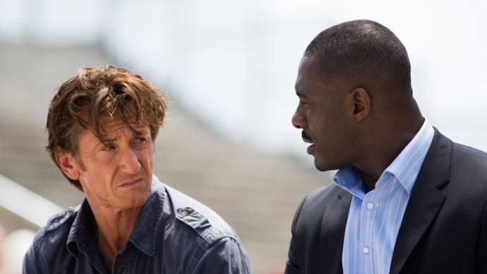 Sean Penn (Jim Terrier) en Idris Elba
