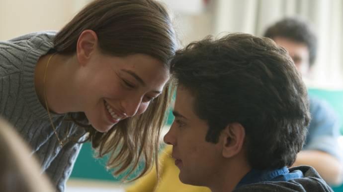 Tawfeek Barhom (Eyad) en Daniel Kitsis (Naomi)