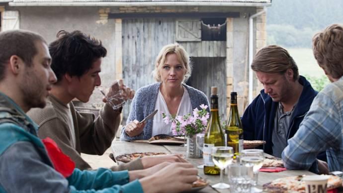 Loes Haverkort (Simone), Peter Paul Muller (Peter) en Mark van Eeuwen (Eric)