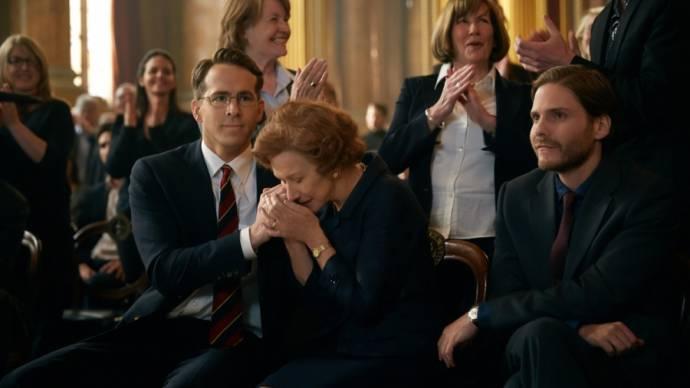 Helen Mirren (Maria Altmann) en Ryan Reynolds (Randol Schoenberg)