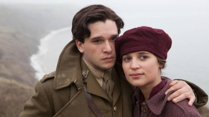 Kit Harington (Roland Leighton) en Alicia Vikander (Vera Brittain)