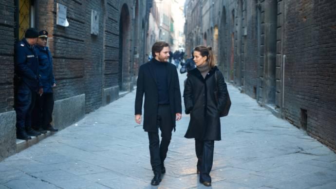 Daniel Brühl (Thomas) en Kate Beckinsale (Simone Ford)