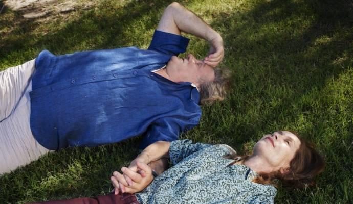 Gérard Depardieu (Gérard) en Isabelle Huppert (Isabelle)