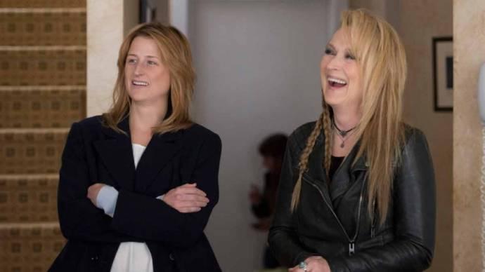 Mamie Gummer (Julie) en Meryl Streep (Ricki)