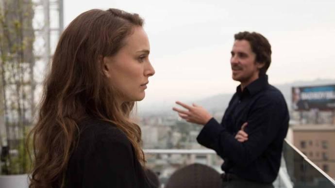 Natalie Portman en Christian Bale (Rick)