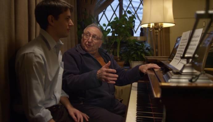 Ethan Hawke (Zichzelf) en Seymour Bernstein (Zichzelf)