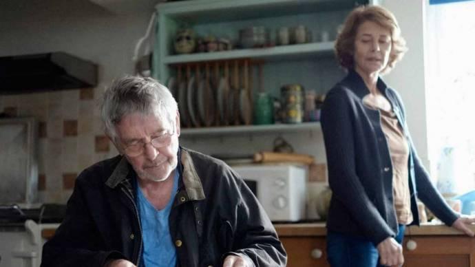 Tom Courtenay (Geoff Mercer) en Charlotte Rampling (Kate Mercer)