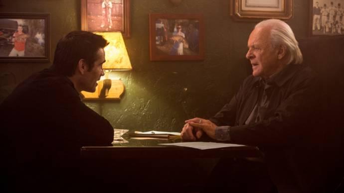 Colin Farrell en Anthony Hopkins (John Clancy)