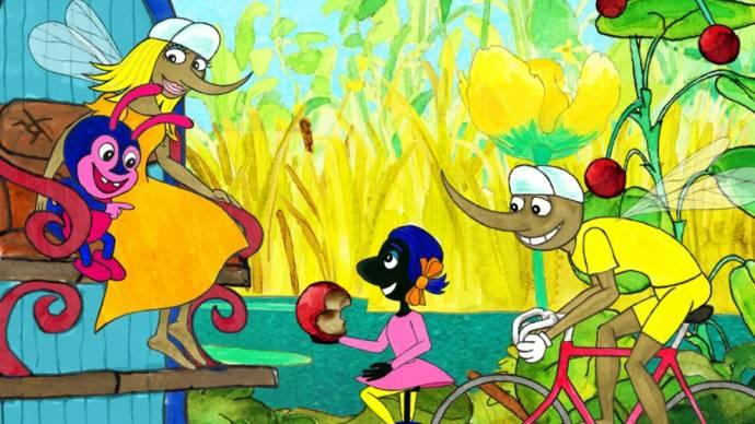 Cykelmyggen og minibillen filmstill