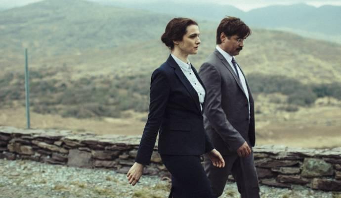 Rachel Weisz (Short Sighted Woman) en Colin Farrell (David)