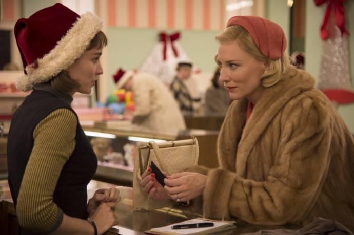 Rooney Mara (Therese Belivet) en Cate Blanchett (Carol Aird)