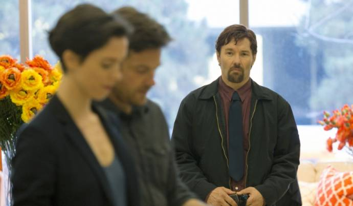 Rebecca Hall (Robyn), Jason Bateman (Simon) en Joel Edgerton (Gordo)