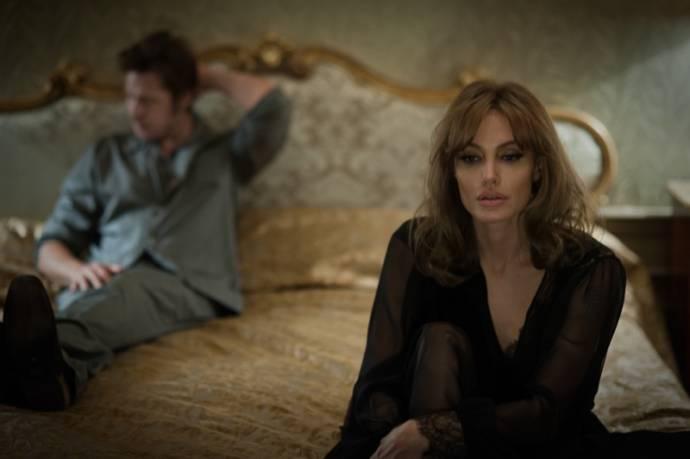 Angelina Jolie (Vanessa) en Brad Pitt (Roland)