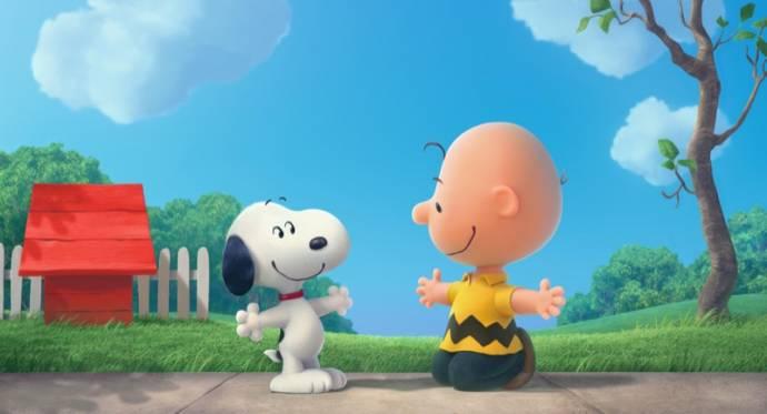 Snoopy en Charlie Brown: De Peanuts Film (NL) filmstill