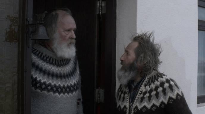 Theódór Júlíusson (Kiddi) en Sigurður Sigurjónsson (Gummi)