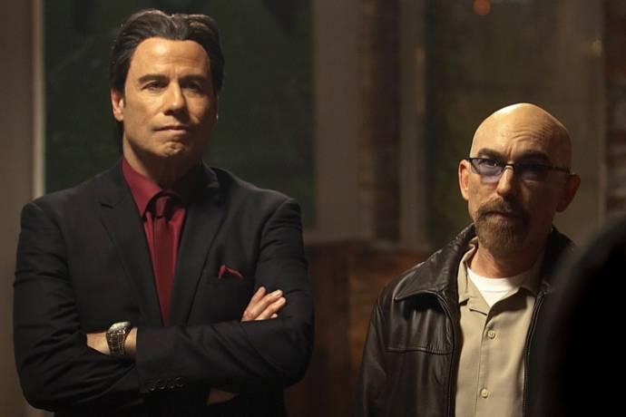 John Travolta (Eddie) en Jackie Earle Haley (Gerry)