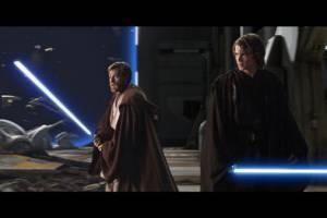 Ewan McGregor en Hayden Christensen als Jedi knights