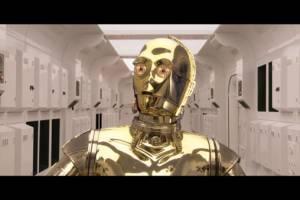C3PO is al zes films van de partij