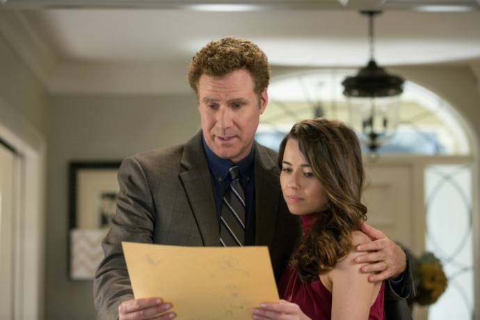 Will Ferrell (Brad) en Linda Cardellini (Sarah) in Daddy's Home