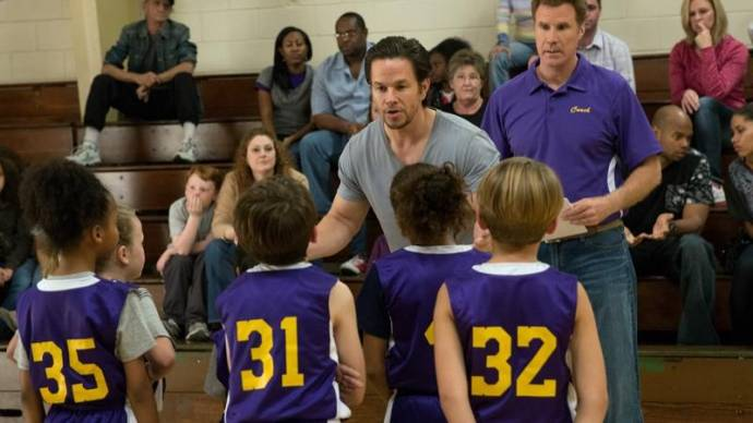 Mark Wahlberg (Dusty) en Will Ferrell (Brad)