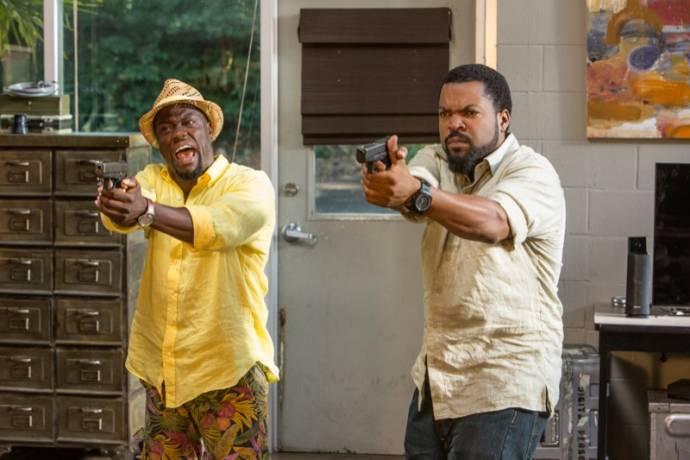 Kevin Hart (Ben Barber) en Ice Cube (James Payton)