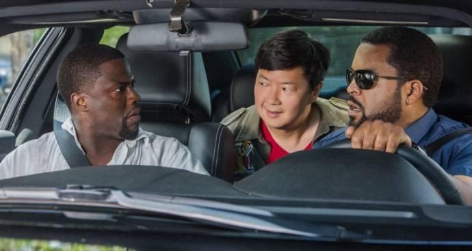 Kevin Hart (Ben Barber), Ken Jeong (A.J.) en Ice Cube (James Payton)