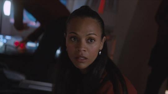 Zoe Saldana (Uhura) in Star Trek Beyond