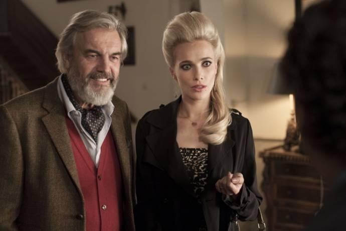 Derek de Lint (Pieter) en Jennifer Hoffman (Bonnie)