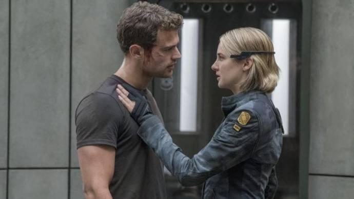Theo James (Four) en Shailene Woodley (Tris)