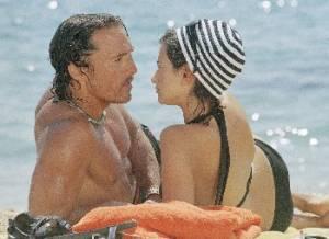 Penélope Cruz (Eva Rojas) en Matthew McConaughey (Dirk Pitt)