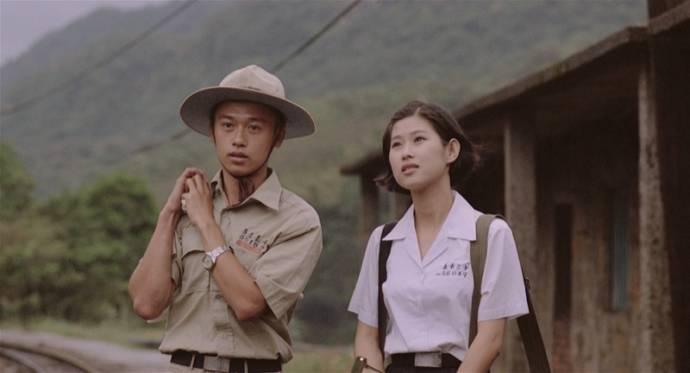 Chien-wen Wang (Ah-yuan) en Shufen Xin (Ah-yun)