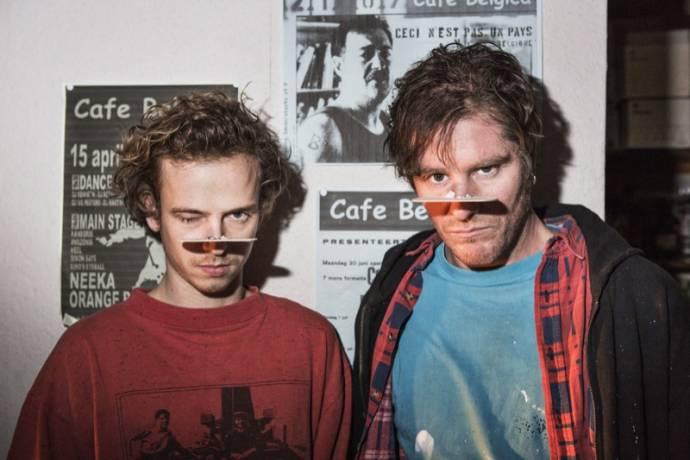 Stef Aerts (Jo) en Tom Vermeir (Frank)