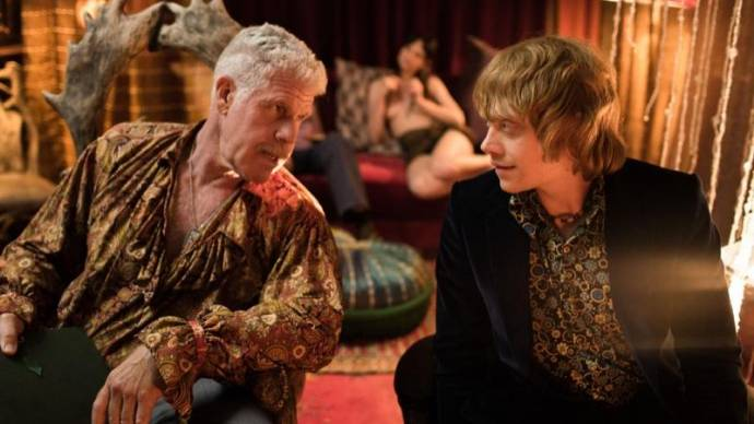 Ron Perlman (Kidman) en Rupert Grint (Jonny)
