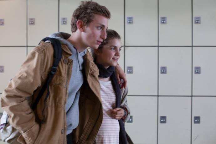 Galatéa Bellugi (Mélanie) en Kacey Mottet Klein (Maxime)