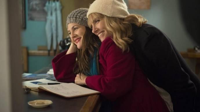 Drew Barrymore (Jess) en Toni Collette (Milly)