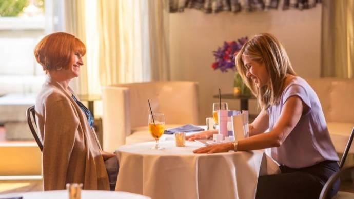 Julia Roberts (Miranda) en Jennifer Aniston (Sandy)
