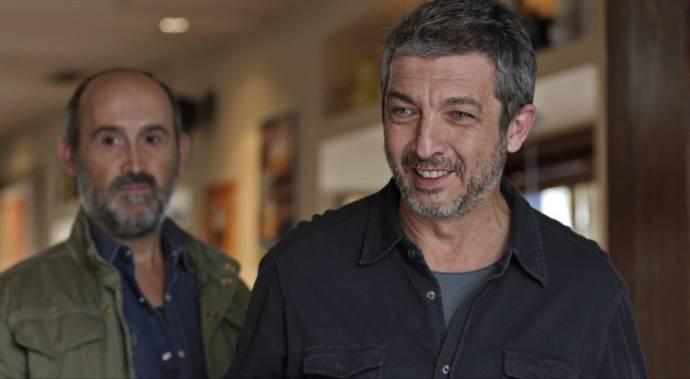 Javier Cámara (Tomás) en Ricardo Darín (Julián)