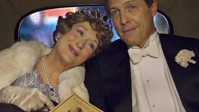 Meryl Streep (Florence Foster Jenkins) en Hugh Grant (St Clair Bayfield)