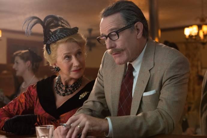 Helen Mirren (Hedda Hopper) en Bryan Cranston (Dalton Trumbo)