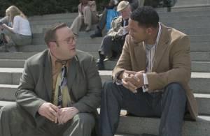 Htich (Will Smith) leert Albert (Kevin James) de fijne kneepjes van het versieren