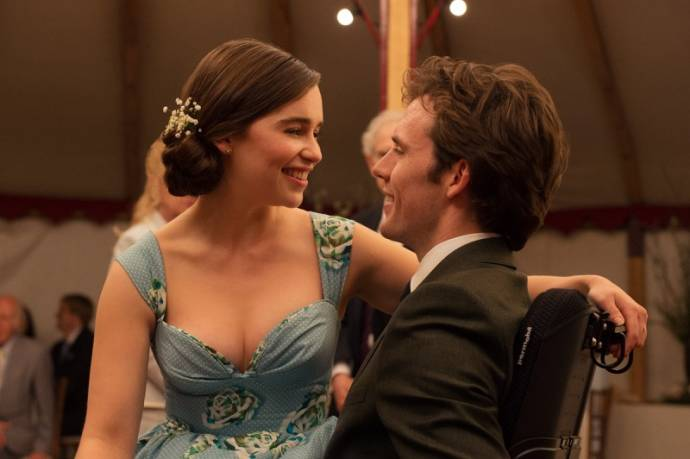 Emilia Clarke (Louisa Clark) en Sam Claflin (William Traynor)