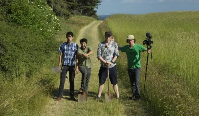 Josh Evans (Zichzelf), Roberto Flore (Zichzelf) en Ben Reade (Zichzelf)