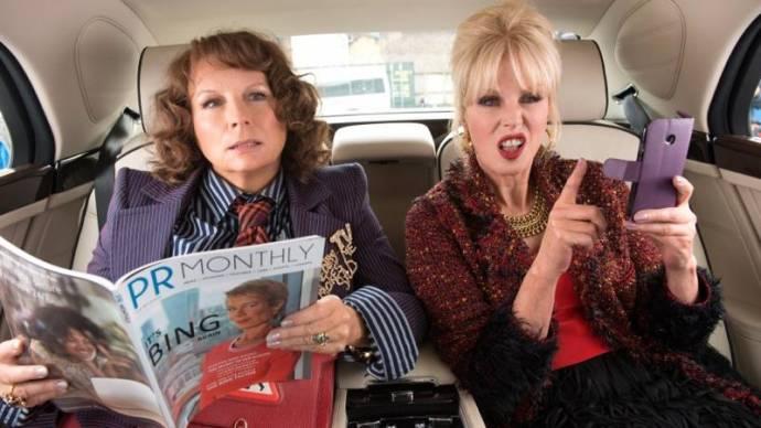 Jennifer Saunders (Edina Monsoon) en Joanna Lumley (Patsy Stone)