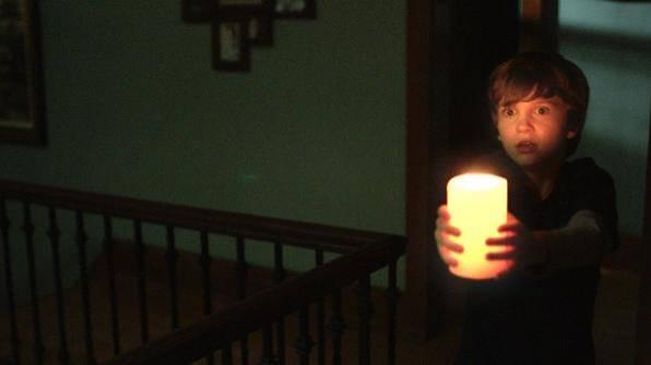 Gabriel Bateman (Martin) in Lights Out