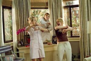 Aria Wallace, Hillary Duff en Heather Locklear als het gezinnetje Hamilton