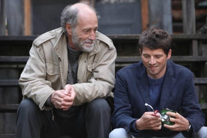 Gabriel Arcand (Pierre Lesage) en Pierre Deladonchamps (Mathieu Capelier)