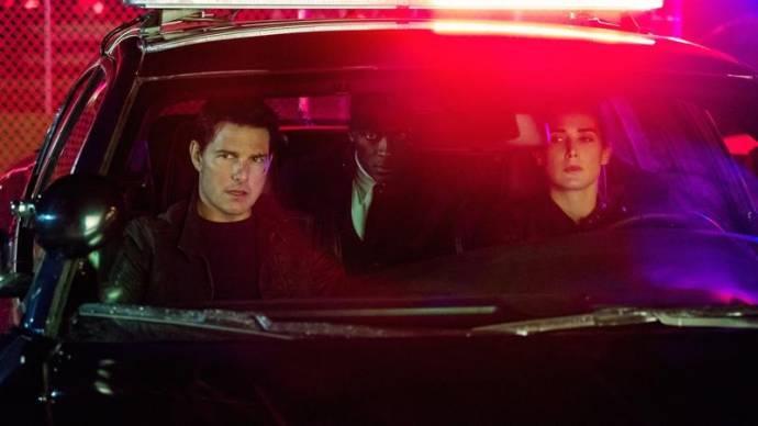 Tom Cruise (Jack Reacher) en Cobie Smulders (Danika)