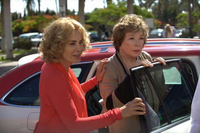 Jessica Lange (Maddie) en Shirley MacLaine (Eva Miller)