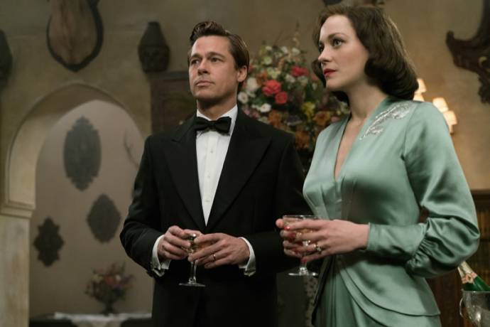 Brad Pitt (Max Vatan) en Marion Cotillard (Marianne Beausejour)